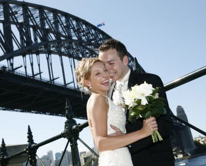 WeddingClimb Sydney Harbour