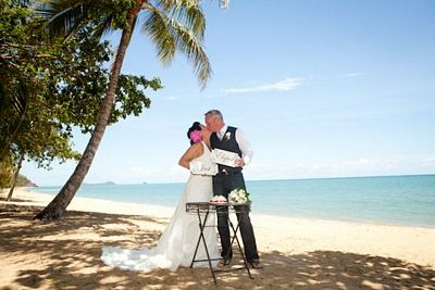 Cairns Beach Rainforest Wedding