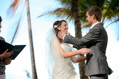 port douglas beach wedding