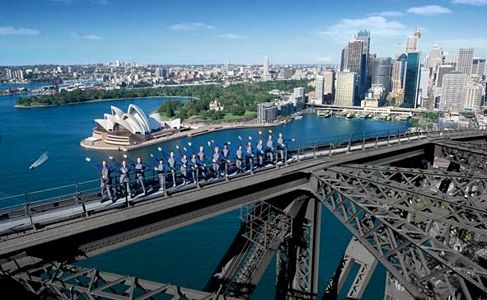 Sydney Harbour Bridge Wedding WeddingClimb