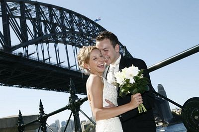 Sydney Harbour Bridge Opera House Wedding
