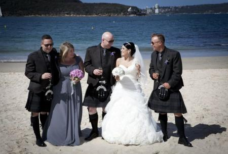 Sydney Beach Wedding
